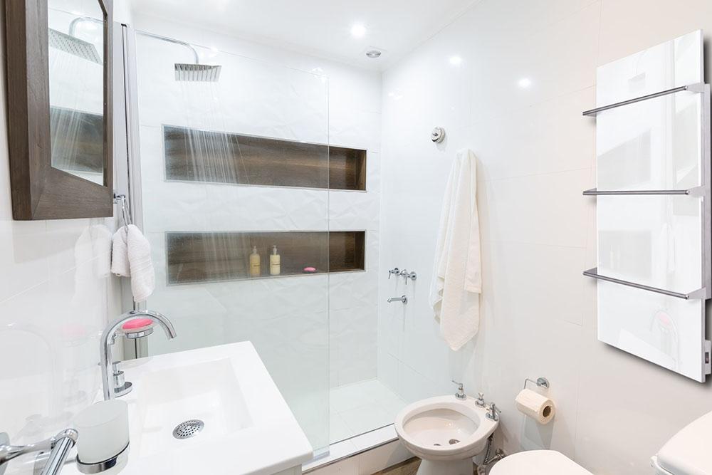 Łazienkowe panele na podczerwień